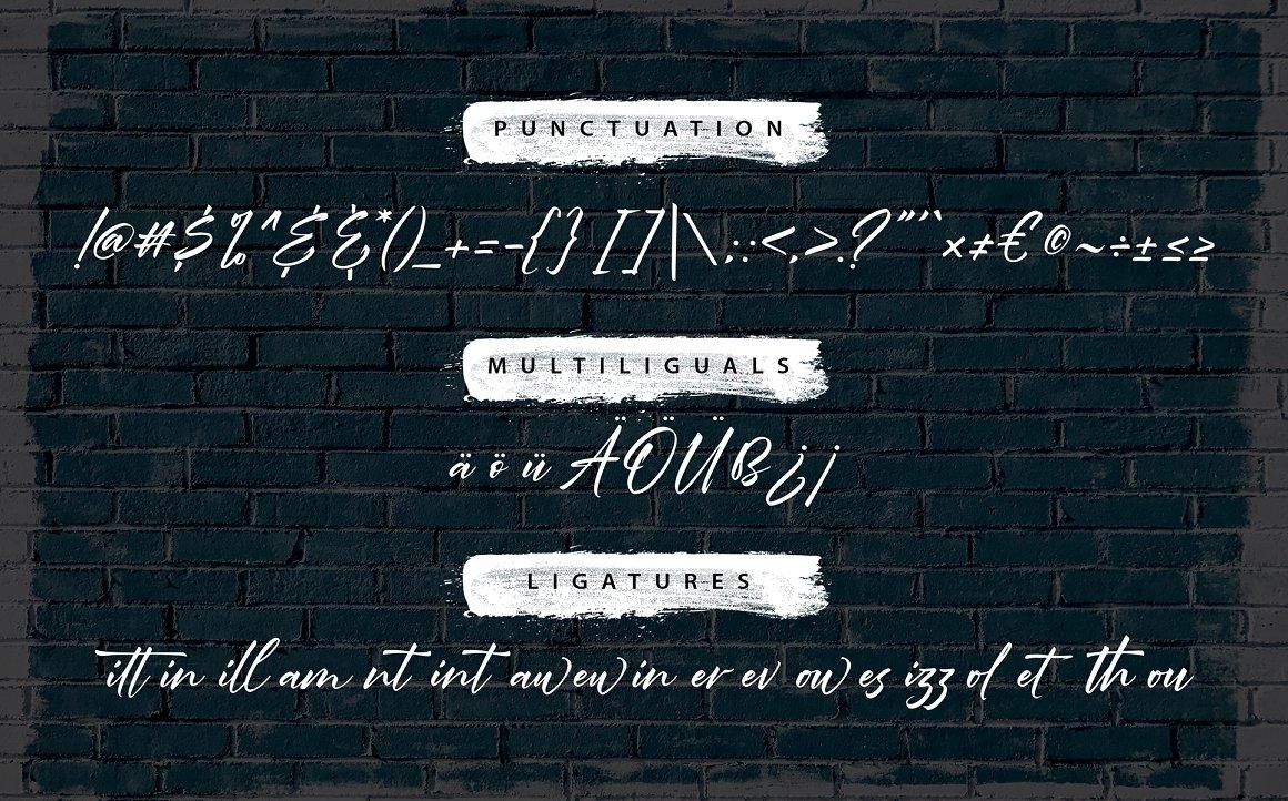 Rawriting Uniquely Handwriting Font-4
