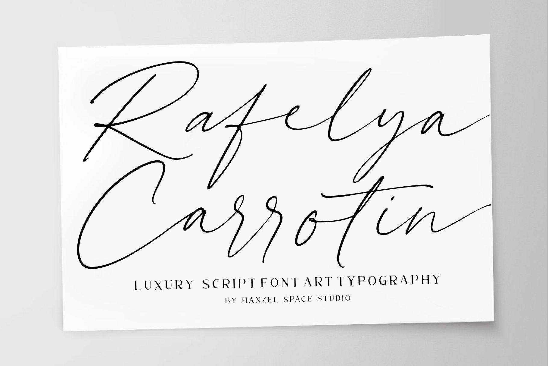 Rellyan Charlotte Handwritten Signature Font-1