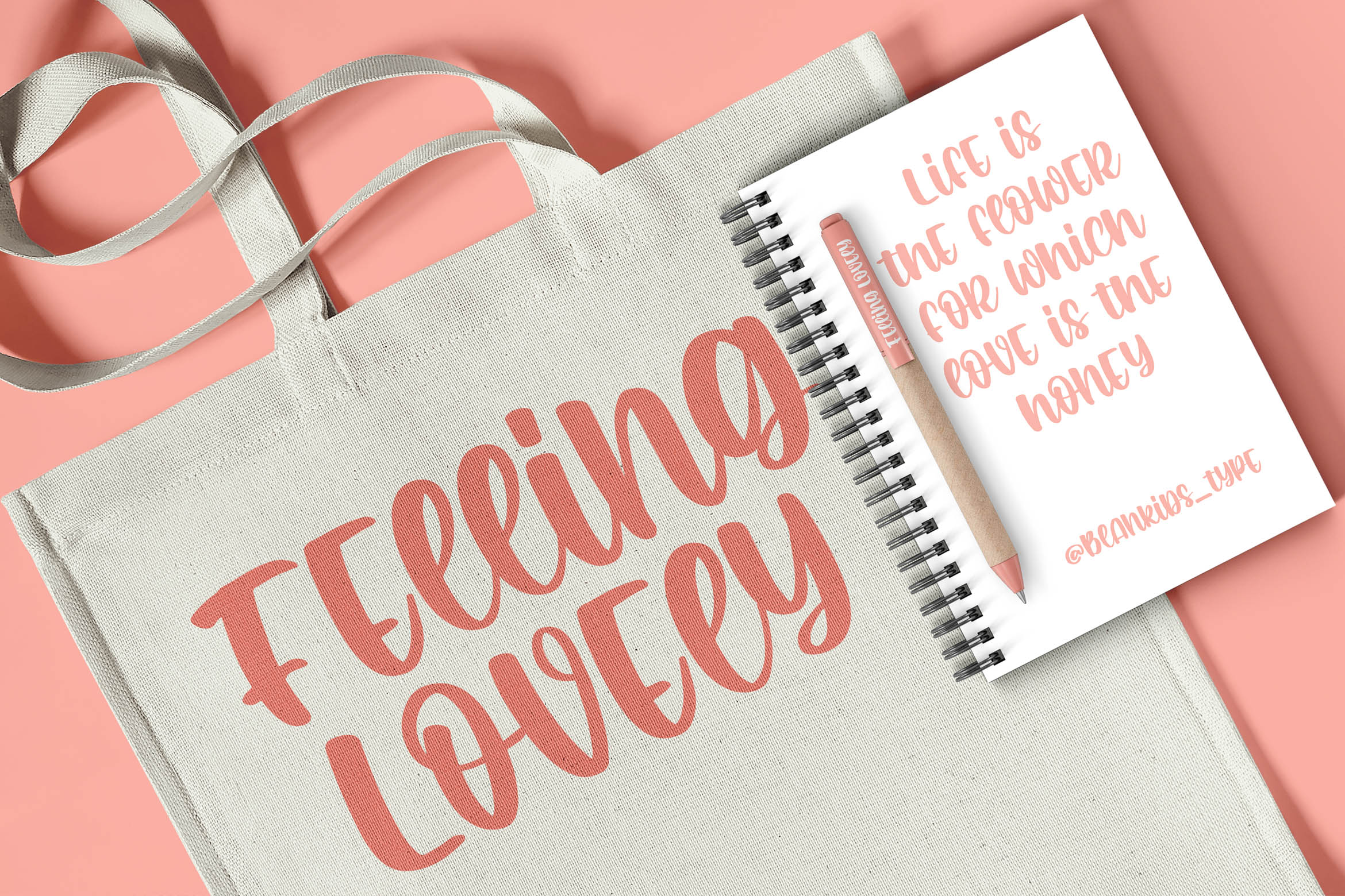 Romantic Crafty Quirky Display Font-2