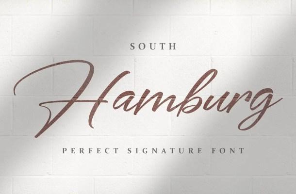 South Hamburg Handwritten Script Font