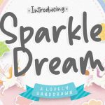 Sparkle Dream Lovely Handdrawn Font