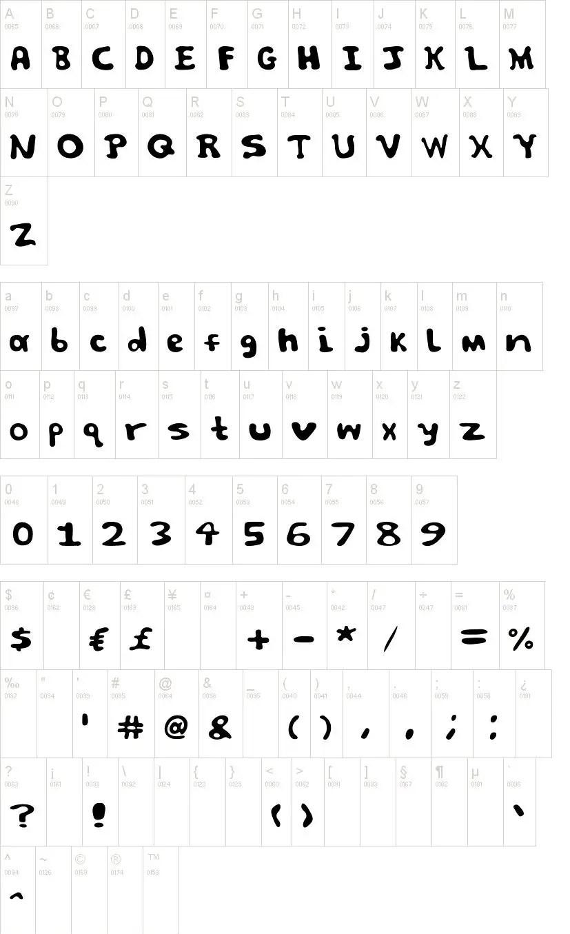 Spooky Display Horror Font-2