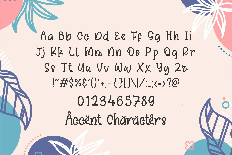 Sticky Candy Fun Slab Serif Font-3