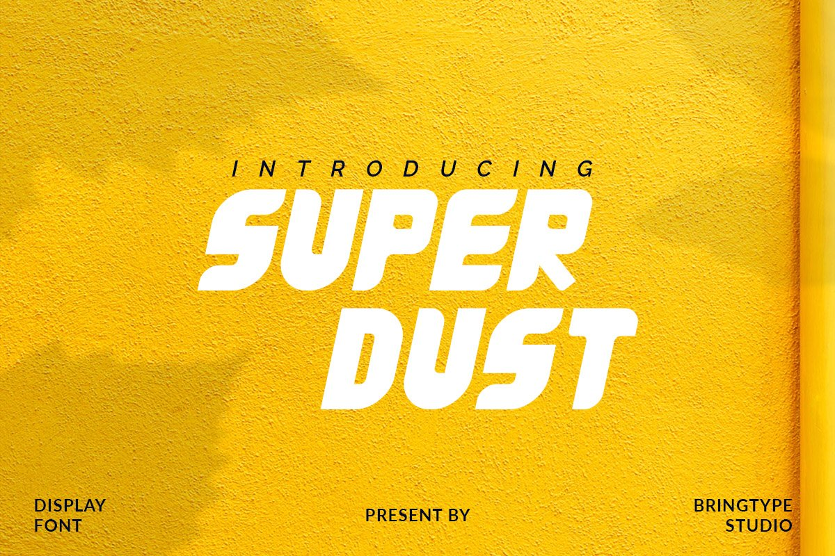 Super Dust Display Font-1
