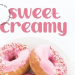 Sweet Creamy Display Font