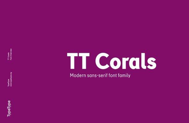 TT Corals Grotesque Sans Serif Free Font