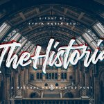 The Historia Brush Script Font