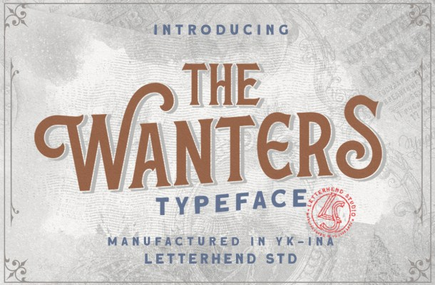 The Wanters Display Typeface