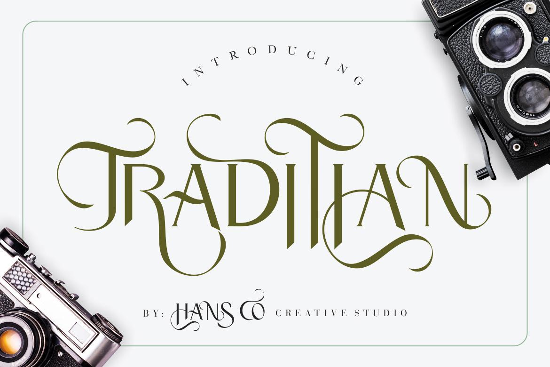 Traditian Sans Serif Font-1