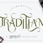 Traditian Sans Serif Font