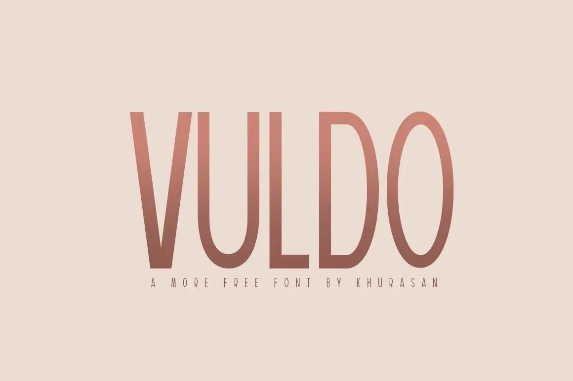 Vuldo Sans Serif Font-1