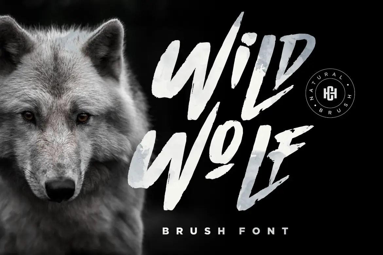 Wild Wolf Script Brush Font-1