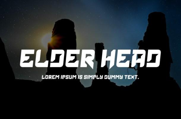Elder Head Serif Font