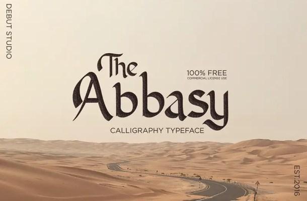 Abbasy Calligraphy Script Font