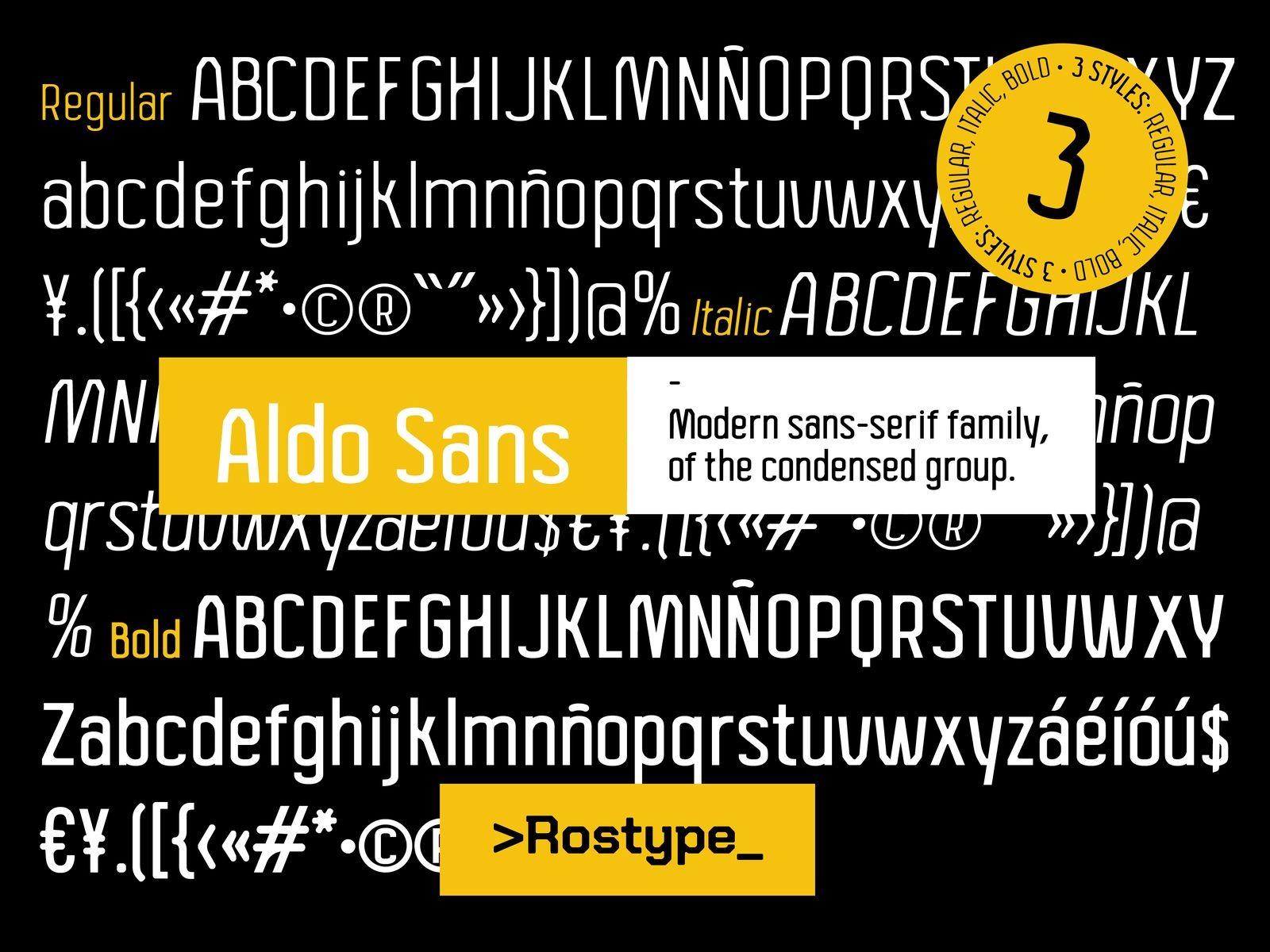 Aldo Sans Serif Font Family-3 (1)