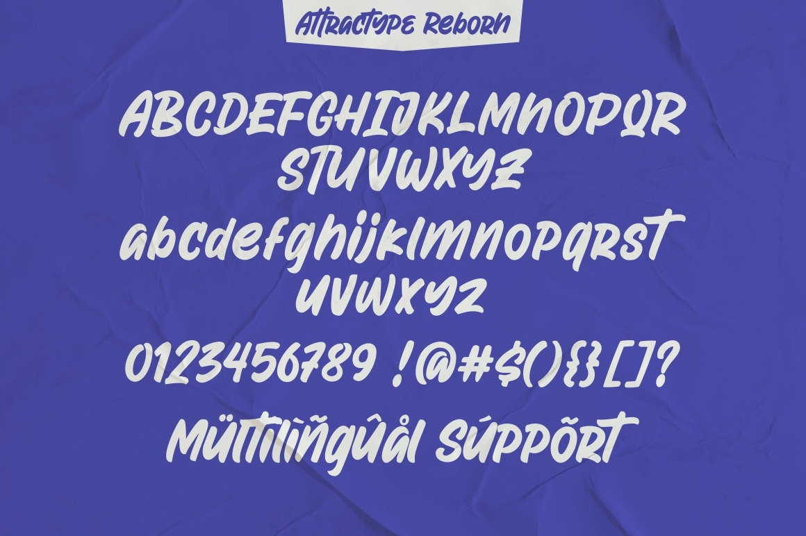 Attractype Reborn Stylish Display Brush Font-3
