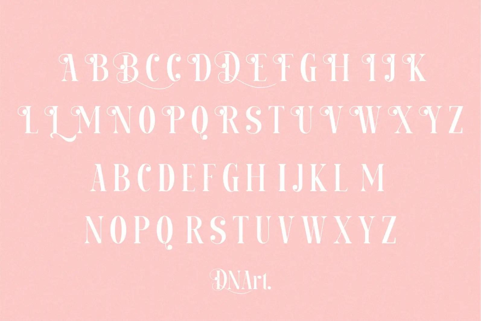 Balinesse Serif Font-3