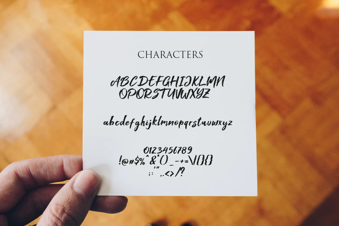 Foxlite Brush Calligraphy Font-3