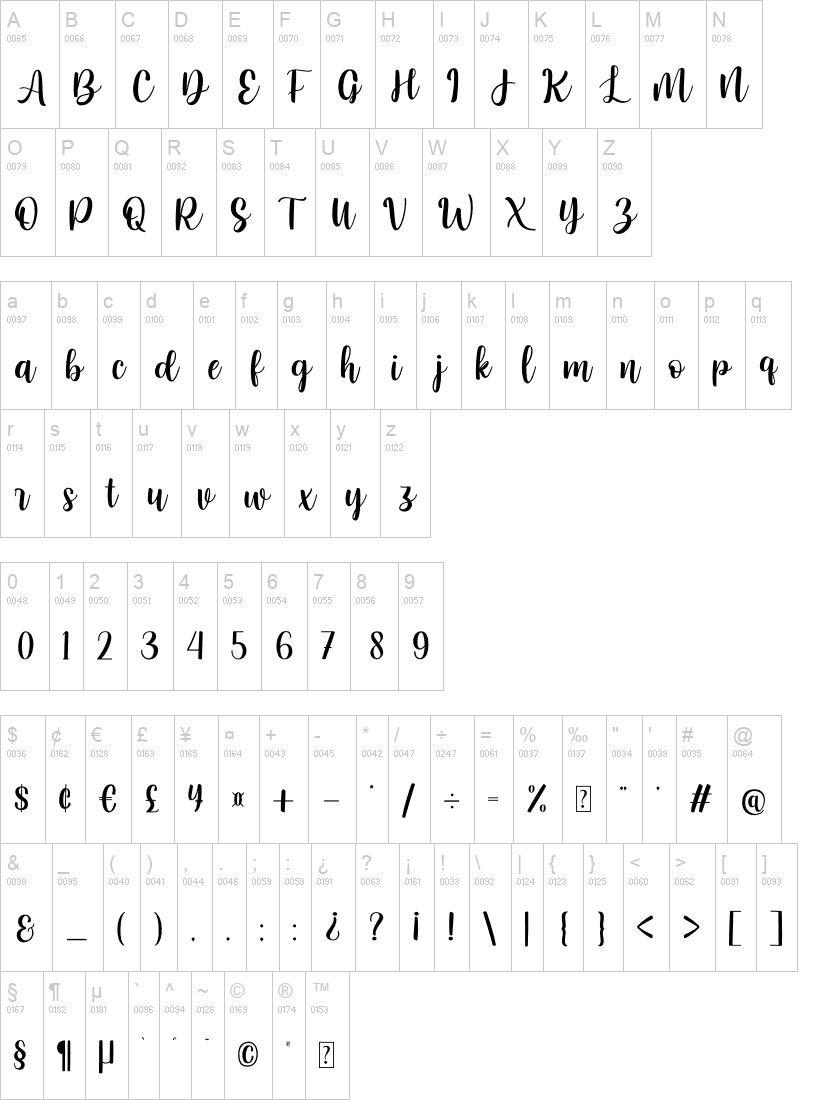 Heart Attack Calligraphy Script Font-3