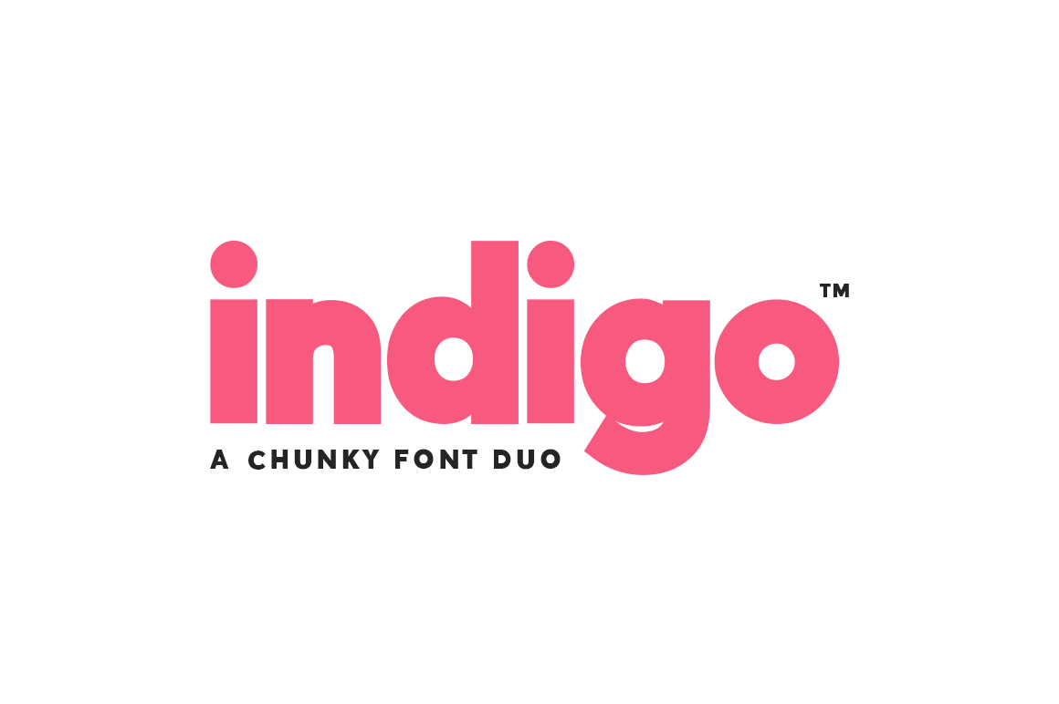 Indigo Font Duo Font-1