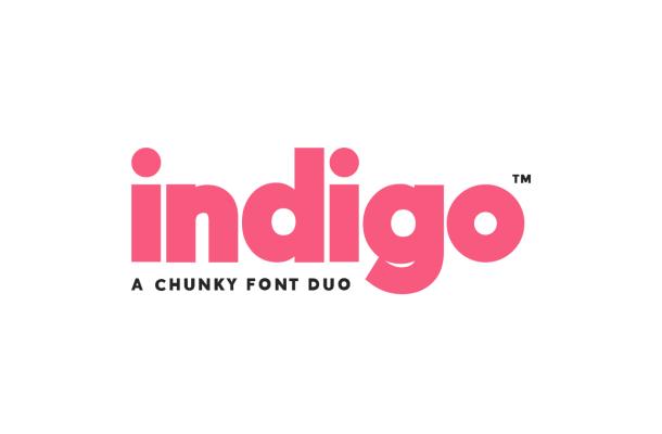 Indigo Duo Font