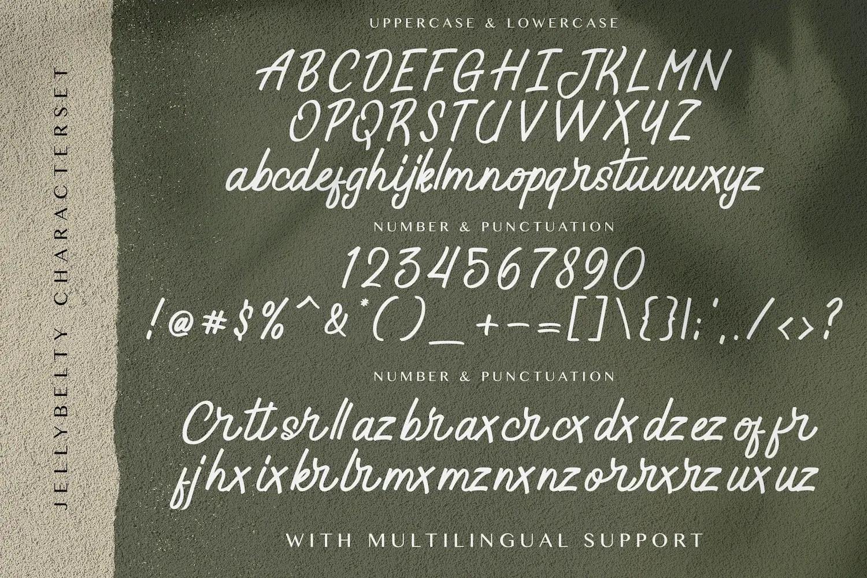 Jelly Belty! Script Handwritten Font-3