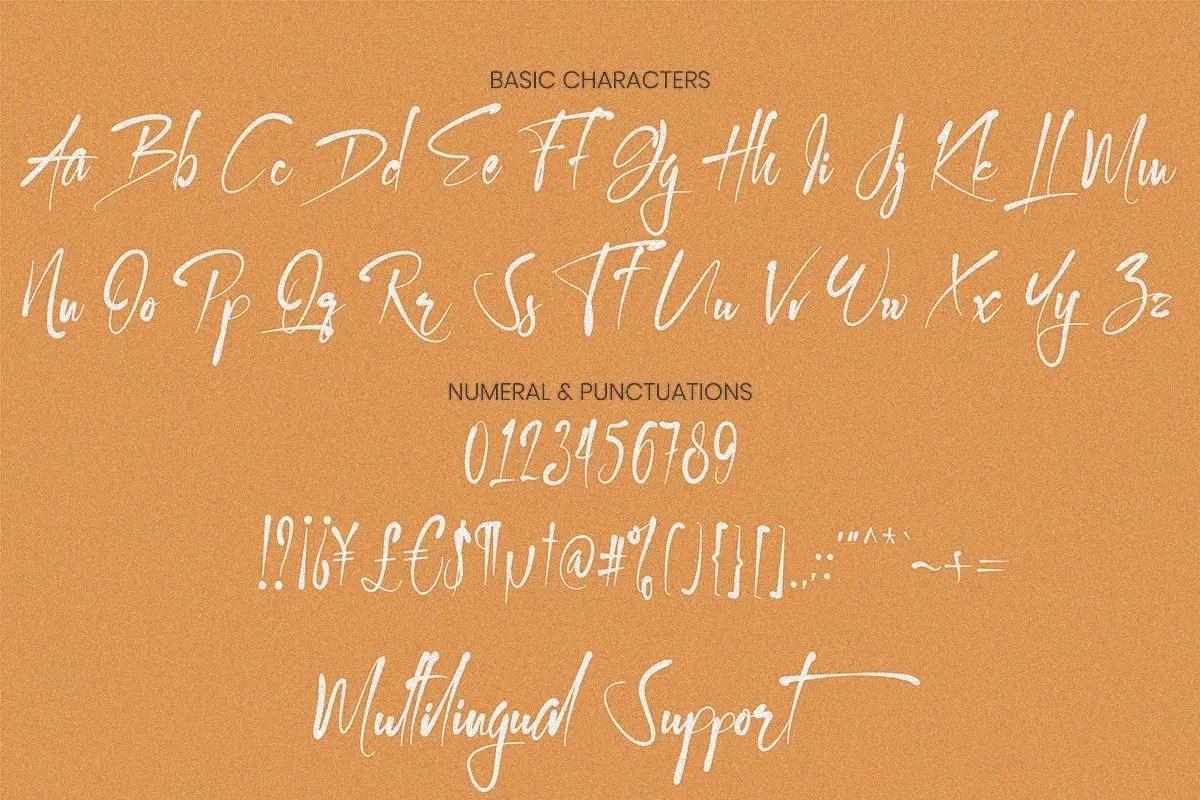 Kallem Script Calligraphy Font-3