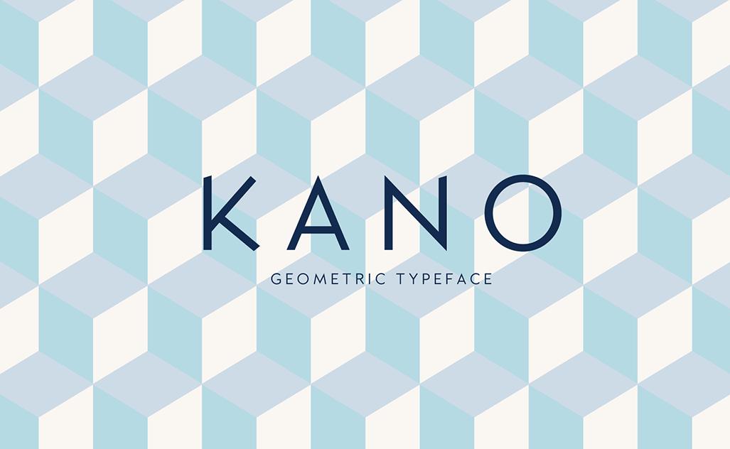 Kano Geometric Typeface-1