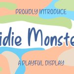 Kidie Monster Display Font