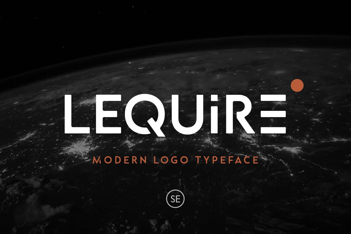 Lequire Modern Logo Typeface-1