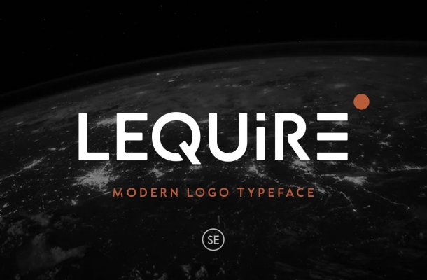 Lequire Modern Logo Typeface