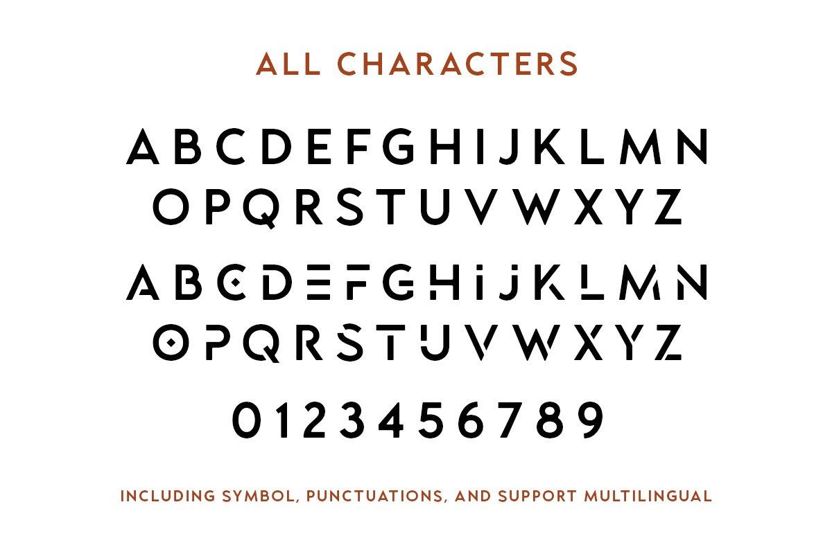 Lequire Modern Logo Typeface-3