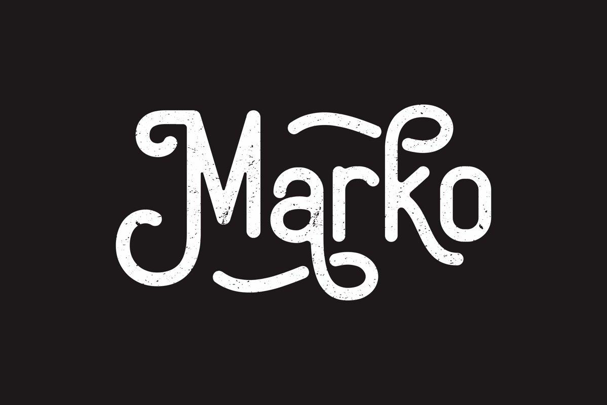 Marko-Vintage-Display-Font-1