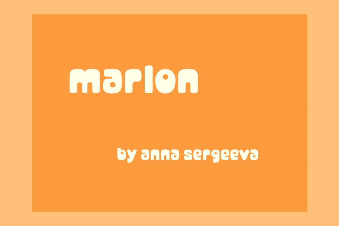 Marlon Fancy Font-1