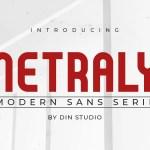 Netraly Modern Sans Serif Font