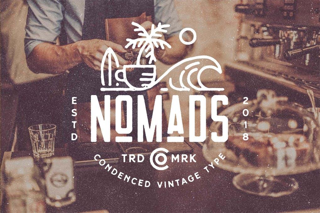 Nomads The Farmer Original Typeface-1