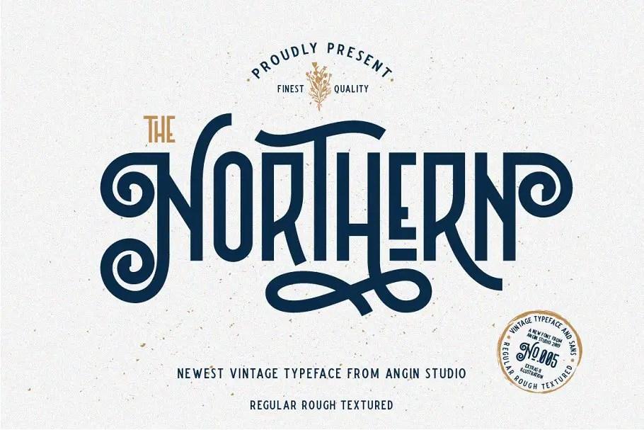 Northern Display Font-1