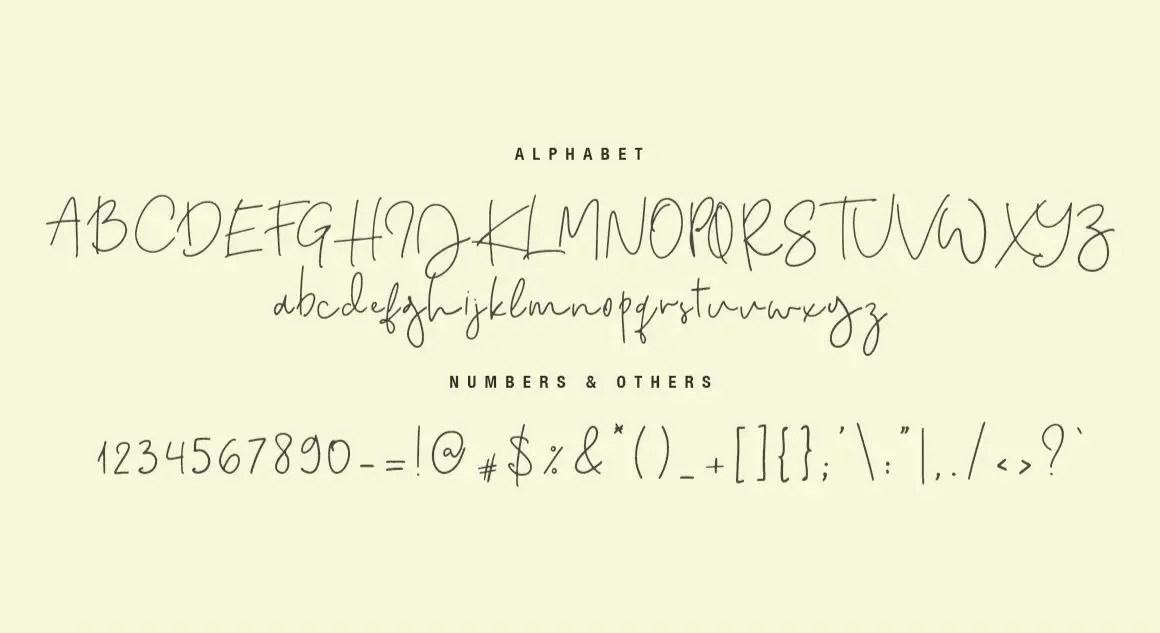 Quake Love Handwritten Script Font-3