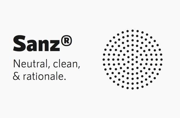 RNS Sanz Clean Sans Serif Font Family