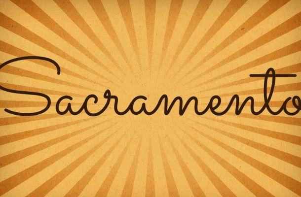 Sacramento Handwritten Font