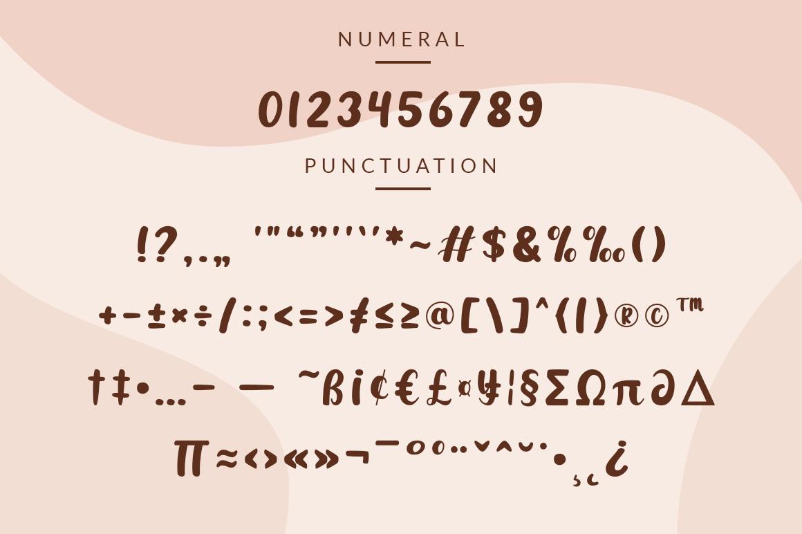 Simplicity Calligraphy Script Font-4