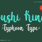 Sushi King Script Various Font