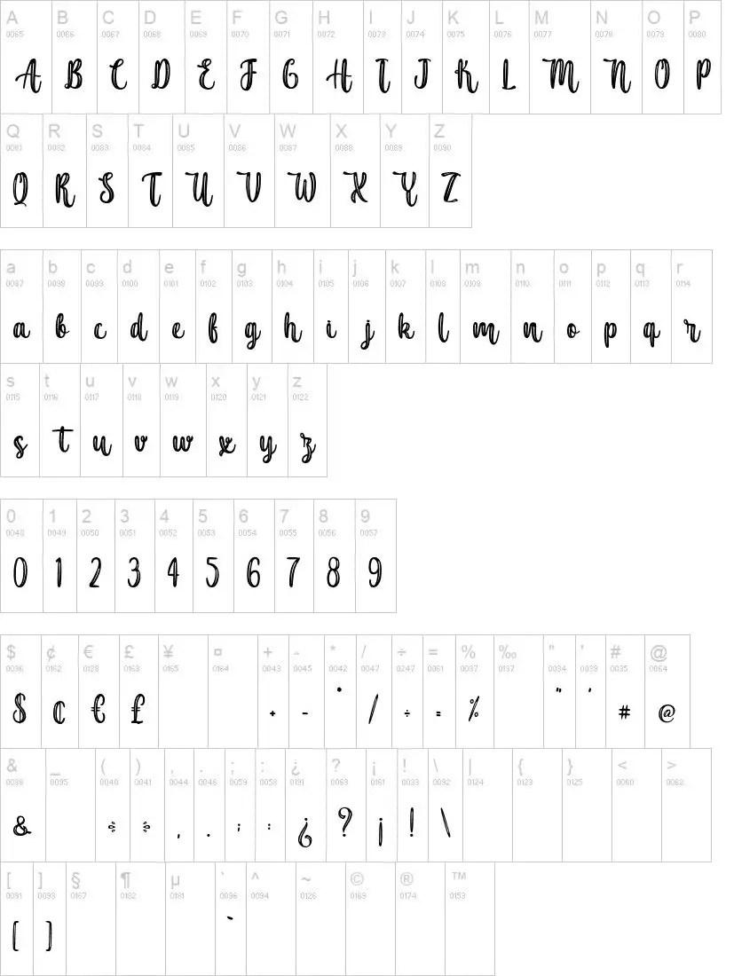 Sushi King Script Various Font-2