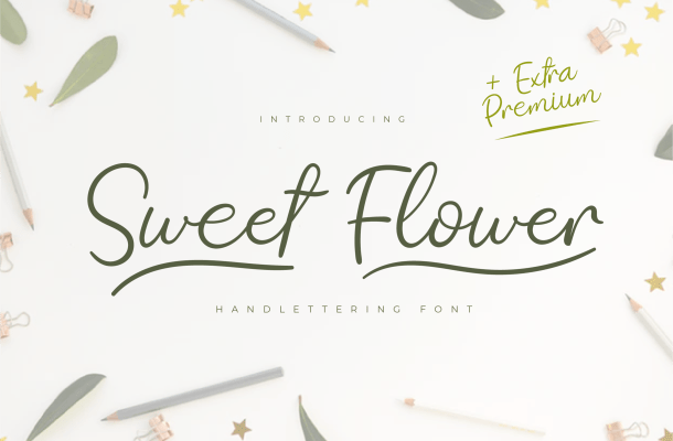 Sweet Lover Handwritten Script Font