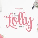 The Lolly Script Handwritten Font