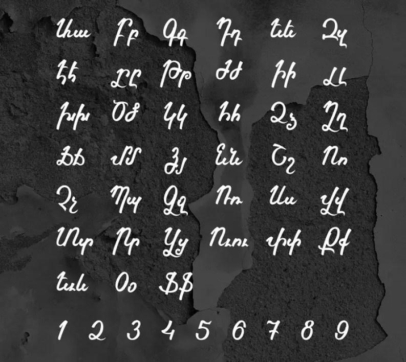 Vrdznagir Serif Font-2