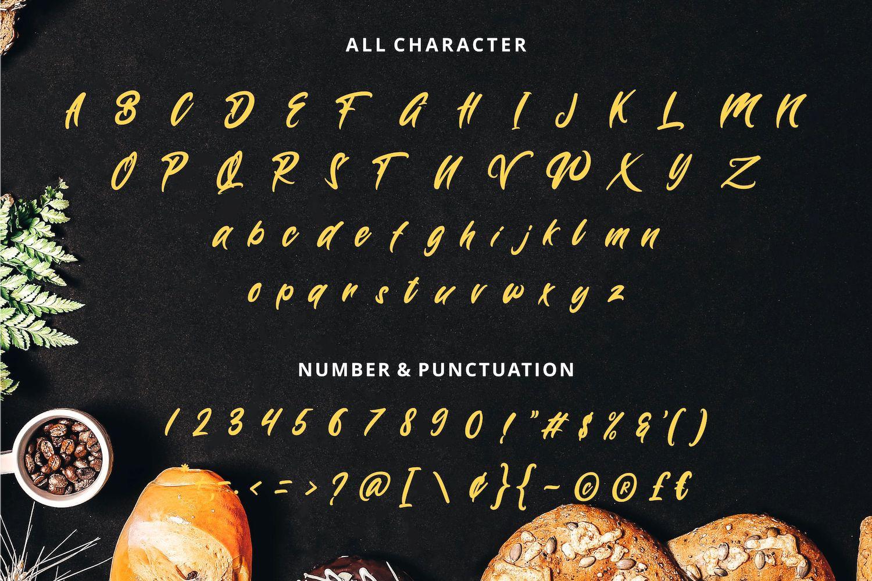 Wynter Sandy Bold Script Font-3