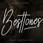 Besttones Signature Handwritten Font