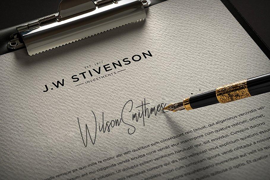 Besttones Signature Handwritten Font-2