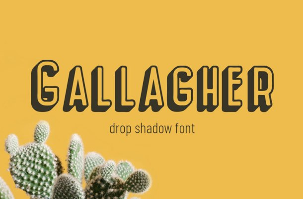 Gallagher Fancy Font